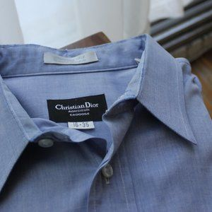 Dior Blue Dress Shirt
